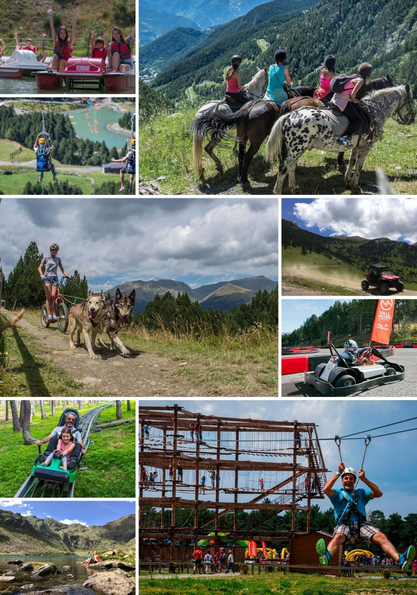 Family fun in Andorra